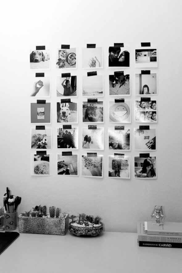 DIY - Aprenda a montar um painel de fotos 013