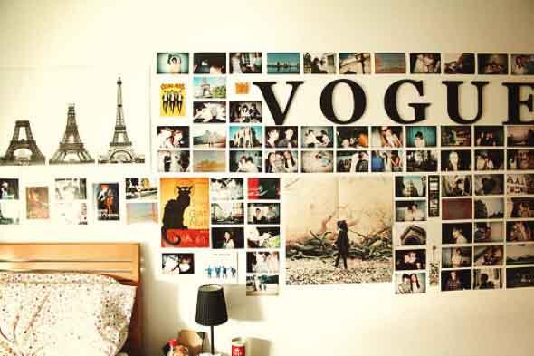 DIY - Aprenda a montar um painel de fotos 015