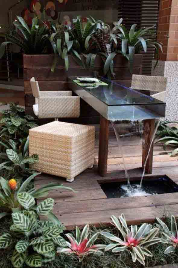 Mesas para varanda quintal ou jardim 002