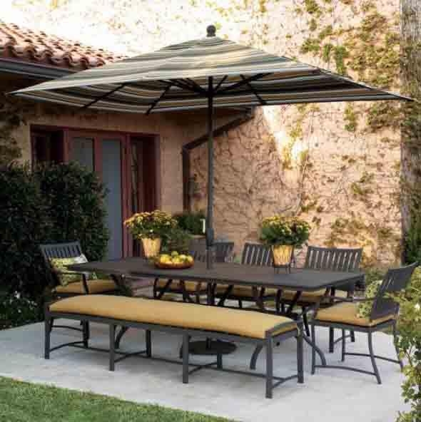 Mesas para varanda quintal ou jardim 006