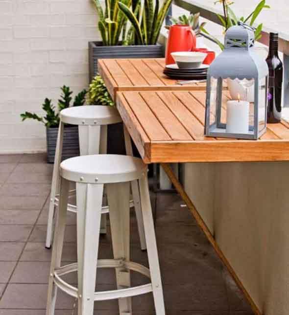 Mesas para varanda quintal ou jardim 007
