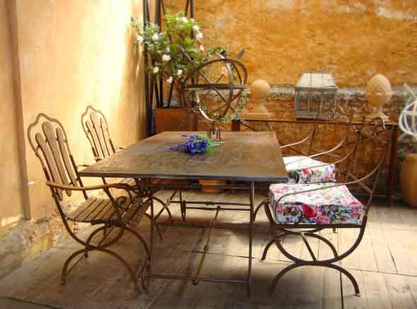 Mesas para varanda quintal ou jardim 019