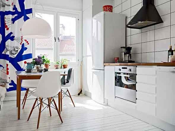 Cortinas na cozinha 020