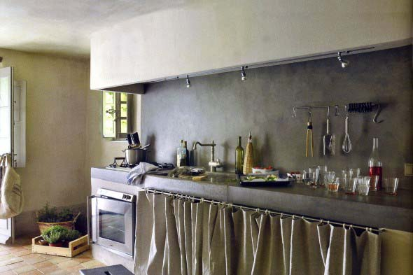 Cortinas na cozinha 021
