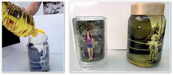 DIY - Porta retrato no potinho 012