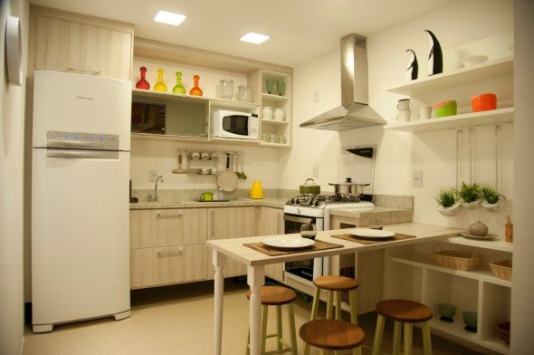Decorar a casa com móveis suspensos 003