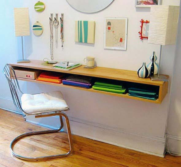 Decorar a casa com móveis suspensos 017