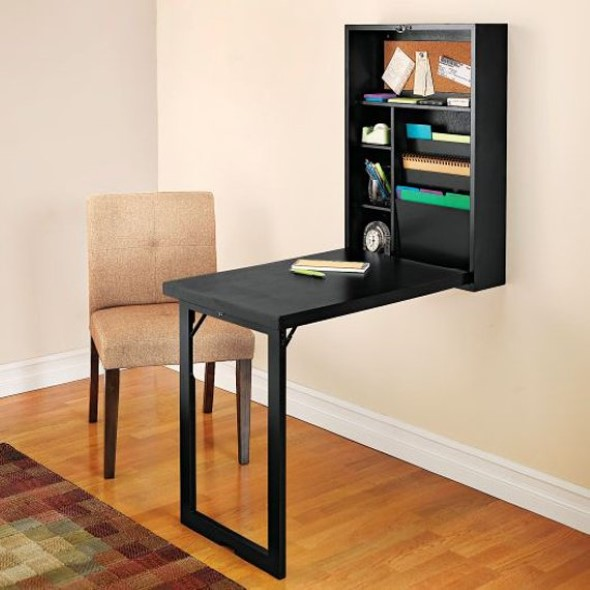 Decorar a casa com móveis suspensos 018