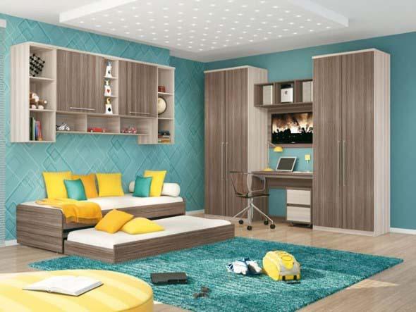 Decorar a casa com móveis suspensos 022