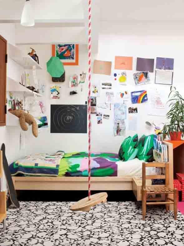 Espaço divertido para crianças em casa 002