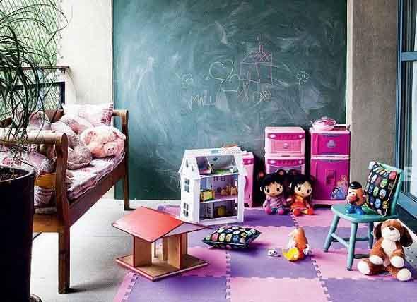Espaço divertido para crianças em casa 013