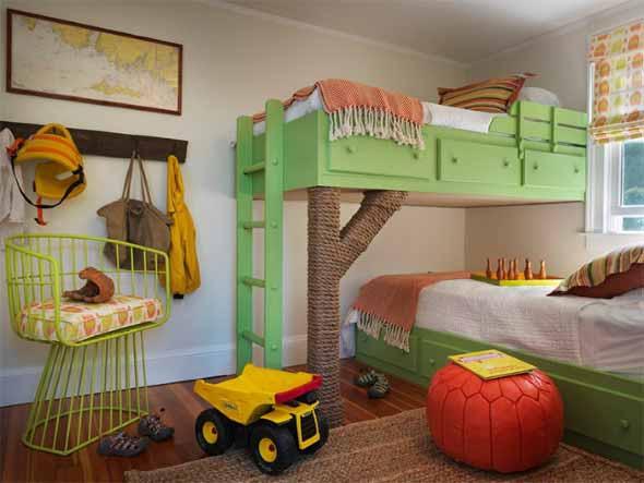 Espaço divertido para crianças em casa 022