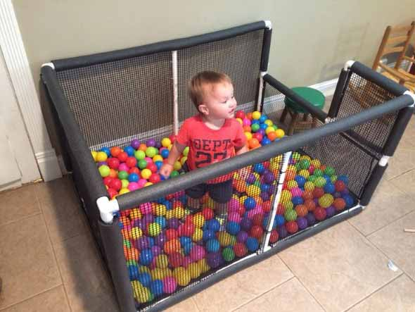 Espaço divertido para crianças em casa 023