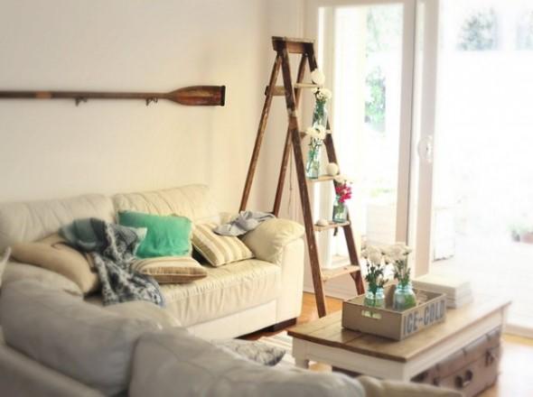 Novas formas de usar escadas na decoração 009