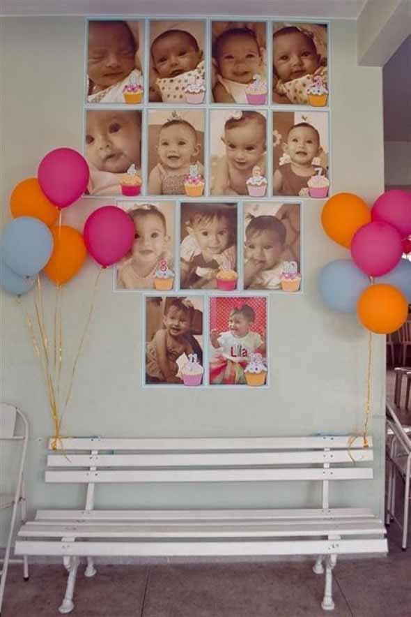 Painel de fotos em festas 010