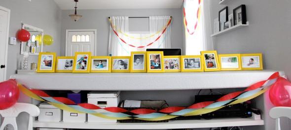 Painel de fotos em festas 012