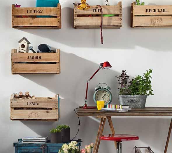 Caixotes de madeira na decoração 009