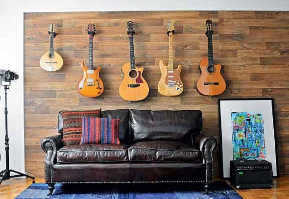 Decorando a casa com instrumentos musicais 001