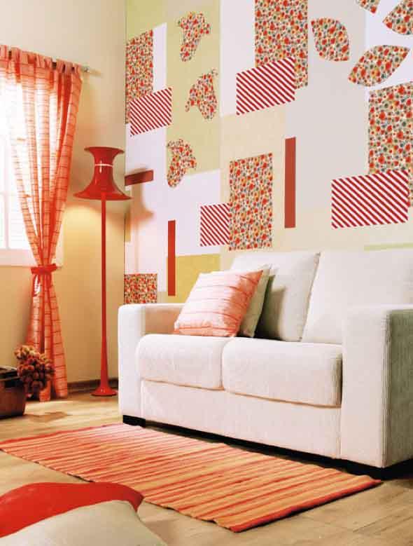 Decorar a casa com retalhos de tecidos 002