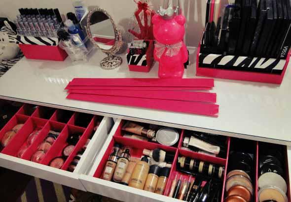 Dicas para organizar acessórios de maquiagem 009