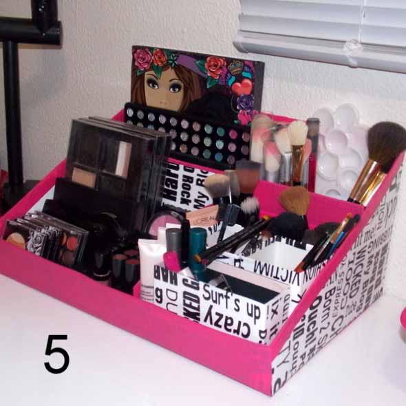 Dicas para organizar acessórios de maquiagem 018