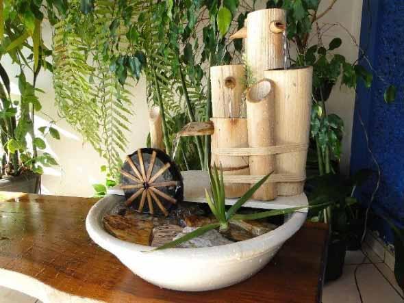 Fontes de água na decoração 001