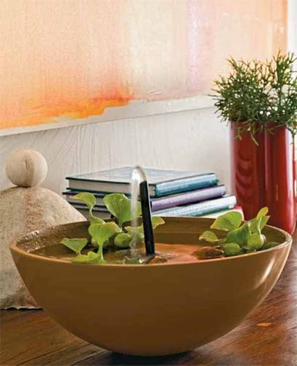 Fontes de água na decoração 002