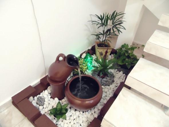 Fontes de água na decoração 008