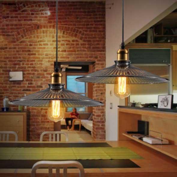 Iluminação com lâmpadas vintage na decoração 018