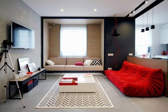Salas de estar modernas e atuais 001