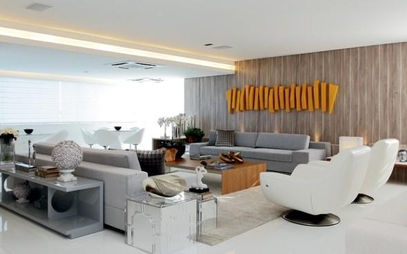 Salas de estar modernas e atuais 004
