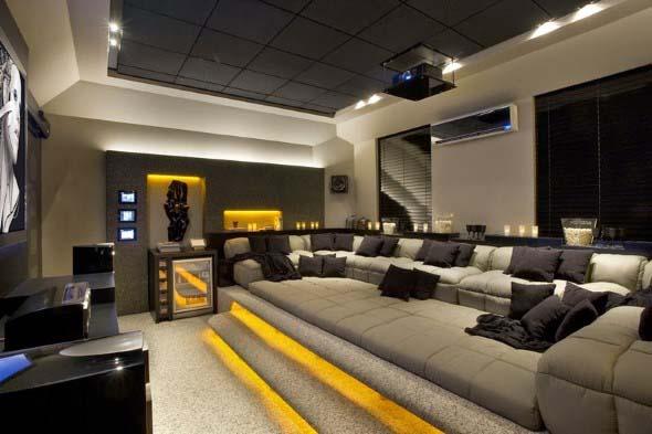 Salas de estar modernas e atuais 012
