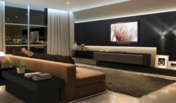 Salas de estar modernas e atuais 019