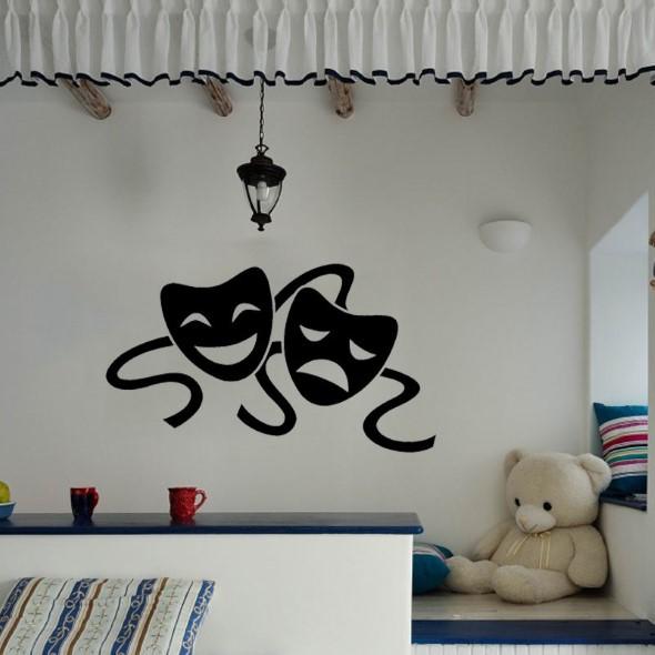 Silhuetas na decoração 016
