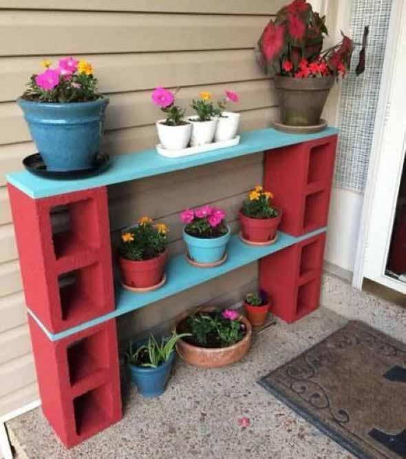 Vasinhos de flores e plantas para enfeitar a casa 006