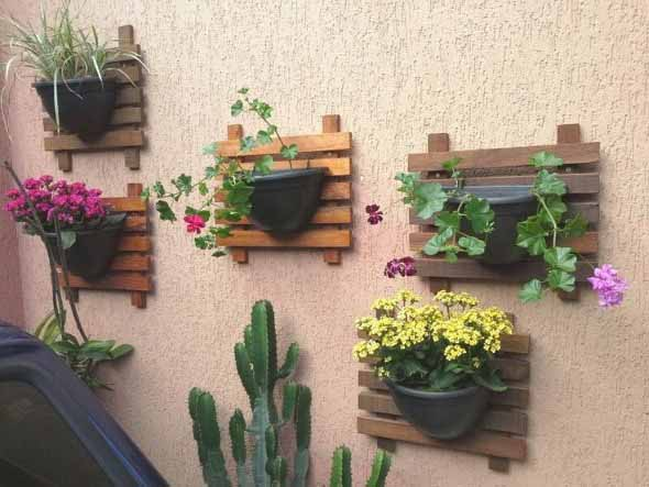 Vasinhos de flores e plantas para enfeitar a casa 015