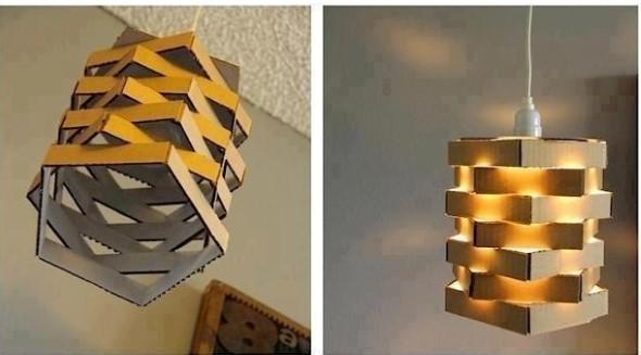 DIY - Caixas de papelão na decoração 007