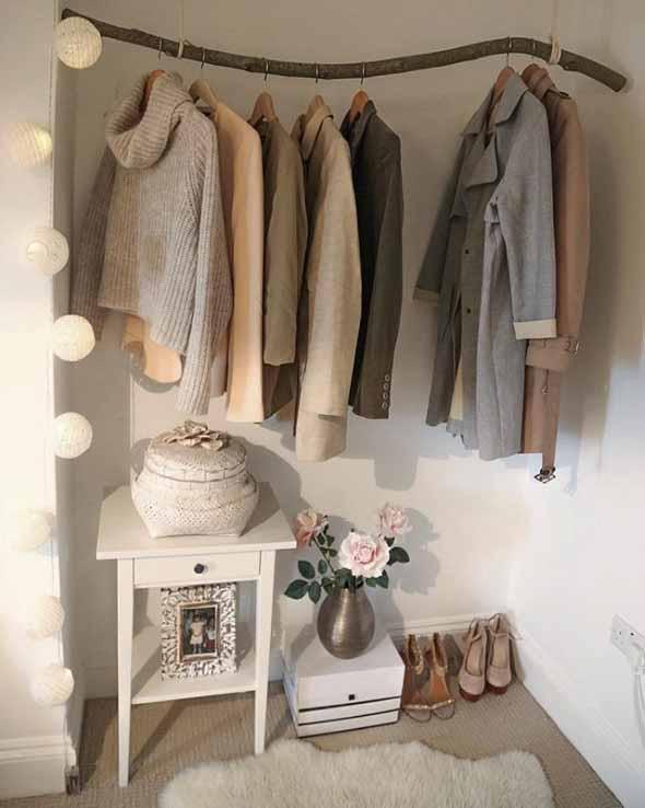 DIY - Como montar uma arara de roupas 011