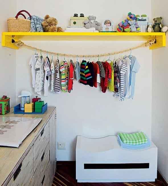 DIY - Como montar uma arara de roupas 012