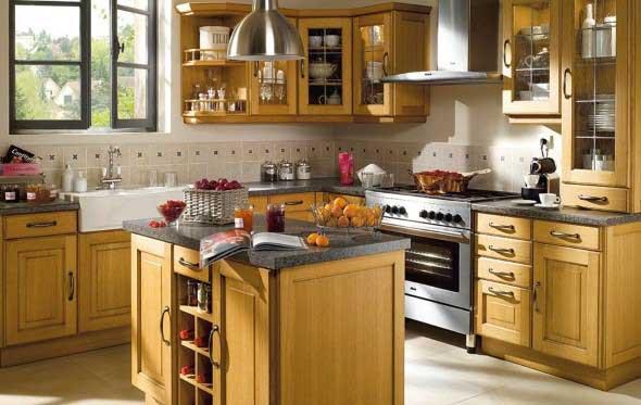 Decoração de cozinhas rústicas 003