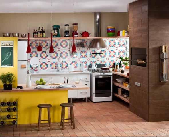 Decoração de cozinhas rústicas 006