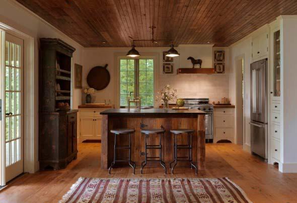 Decoração de cozinhas rústicas 008