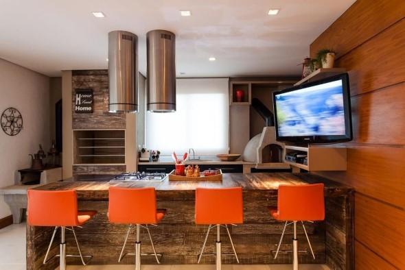 Decoração de cozinhas rústicas 014