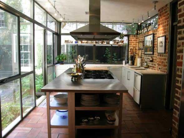Decoração de cozinhas rústicas 015
