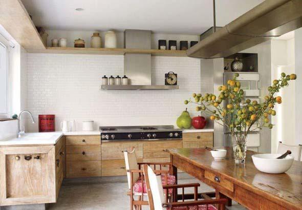 Decoração de cozinhas rústicas 016