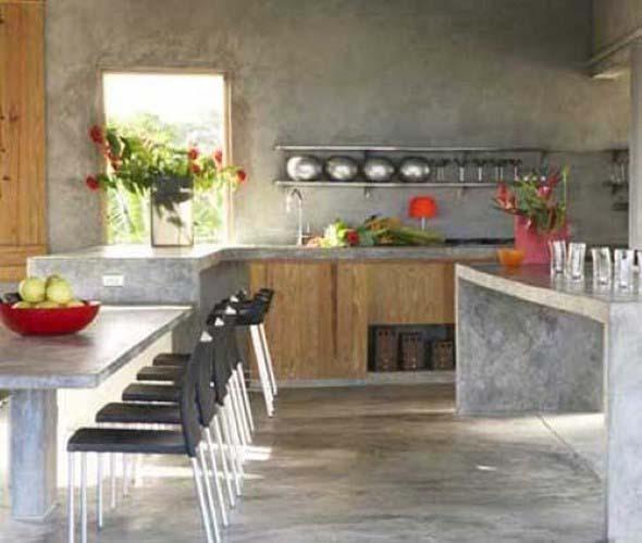 Decoração de cozinhas rústicas 018