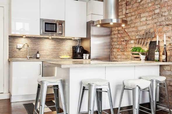 Decoração de cozinhas rústicas 022