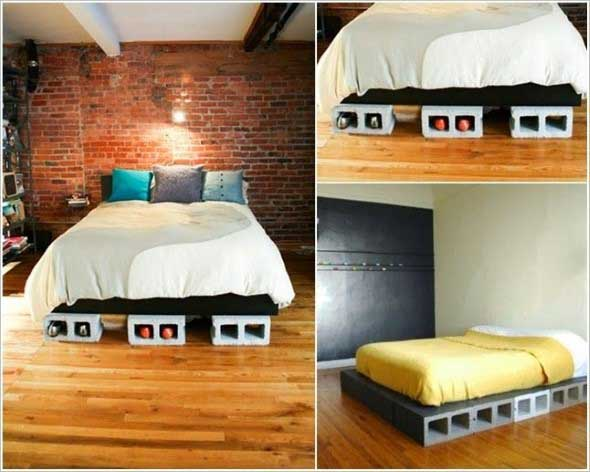 Ideias de decoração com blocos de concreto 011