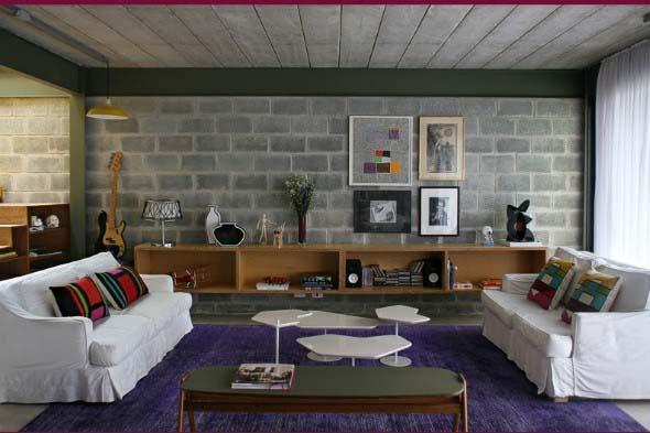 Ideias de decoração com blocos de concreto 014