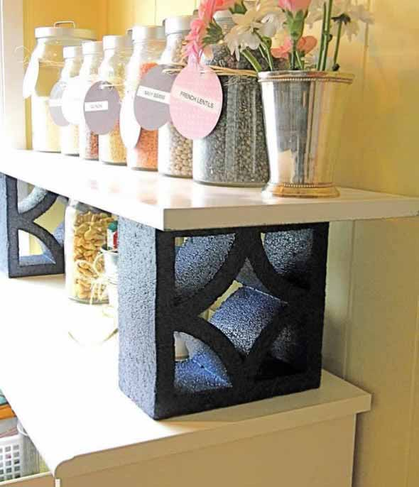 Ideias de decoração com blocos de concreto 019